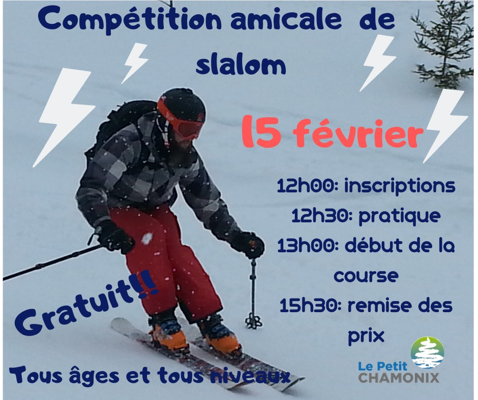 Slalom competition